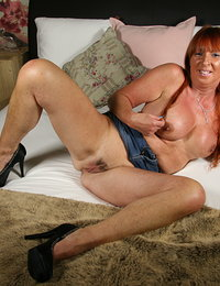 Naughty Belgian housewife getting wet and wild