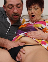 Naughty mature lady getting nasty