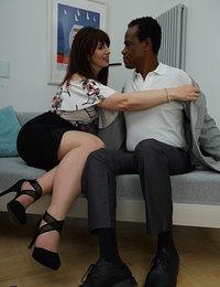 Toni Lace goes interracial